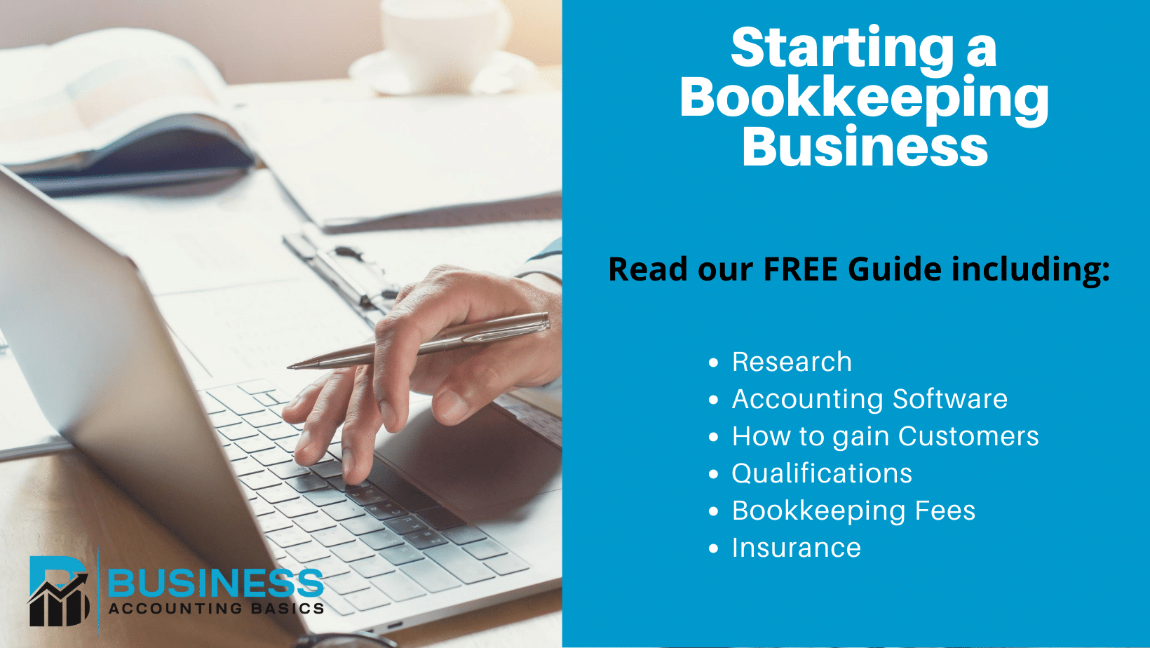 Guide to starting a bookkeeping business