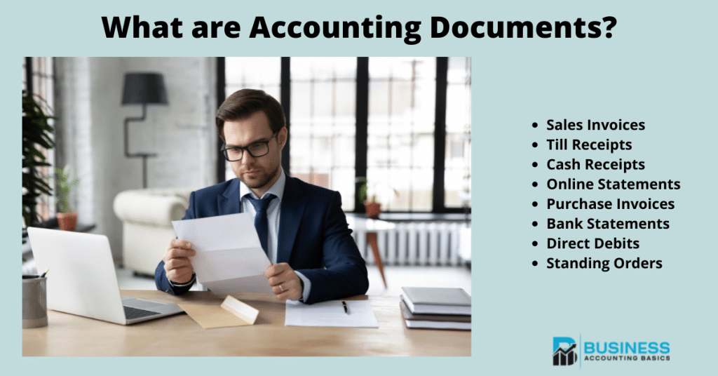 What are Accounting Documents
