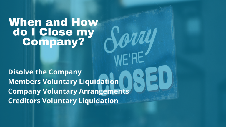 When and How do I Close my Company?