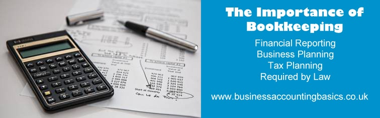 The Importance of bookkeeping for business