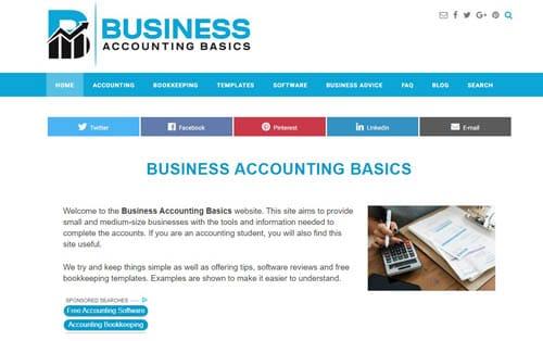 Information website affiliate marketing