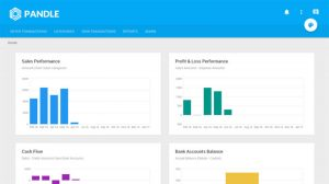 Pandle Review Dashboard free accounting software