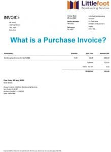 What is a Purchase Invoice