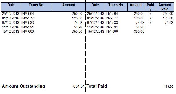 Customer Remittance Template Example
